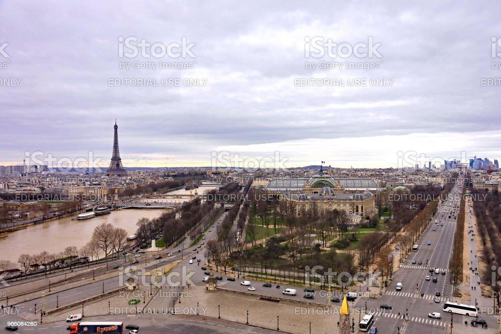 Eiffeltornet - Royaltyfri Berömd plats Bildbanksbilder