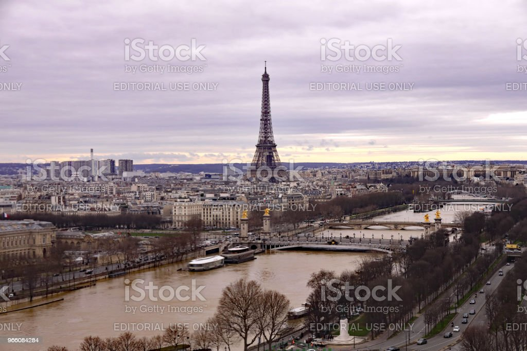 The Eiffel Tower - Стоковые фото Башня роялти-фри