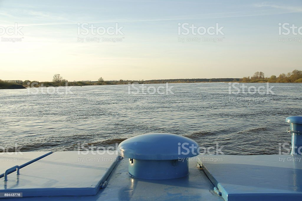 The Elbe River royalty-free stock photo