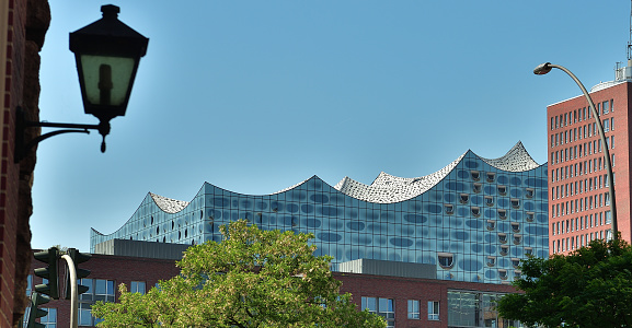 The Elbphilharmonie is a concert hall in Hamburg, Germany