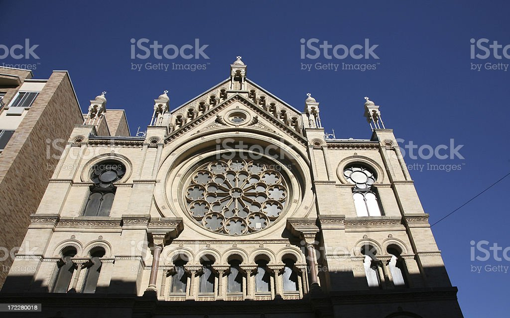 The Eldridge Street Synagogue royalty-free stock photo