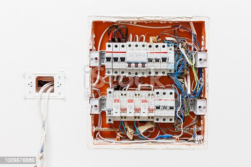 istock the electrical box contains many terminals relays wires and switche 1009676886