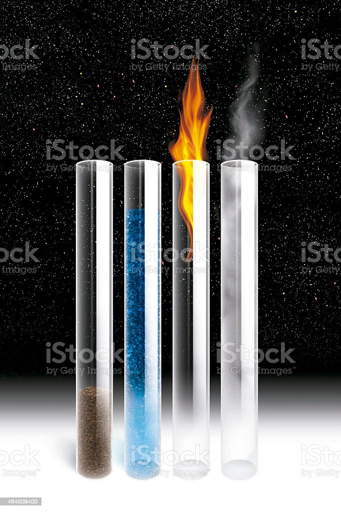 The elements stock photo