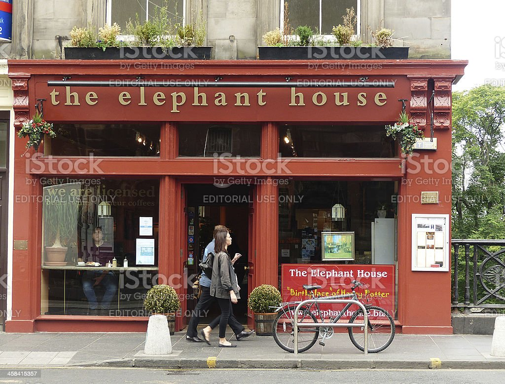 The Elephant House stock photo