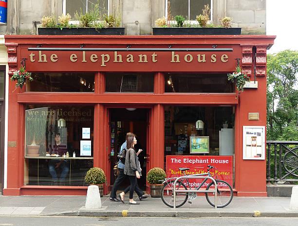 The Elephant House stock photo