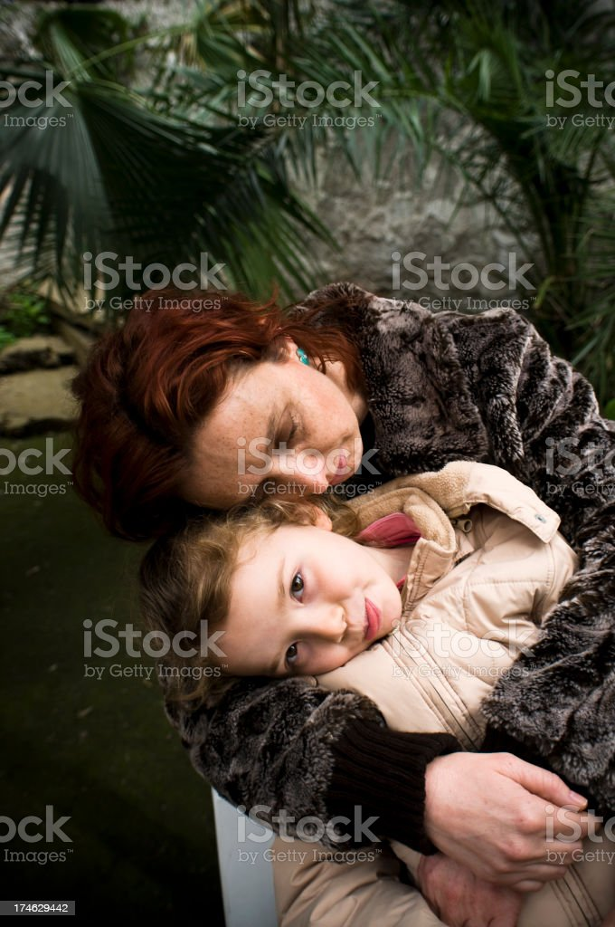 The embrace... stock photo