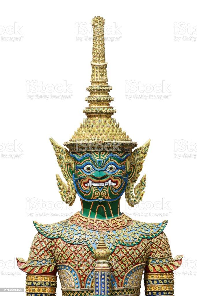 The Emerald Buddha stock photo
