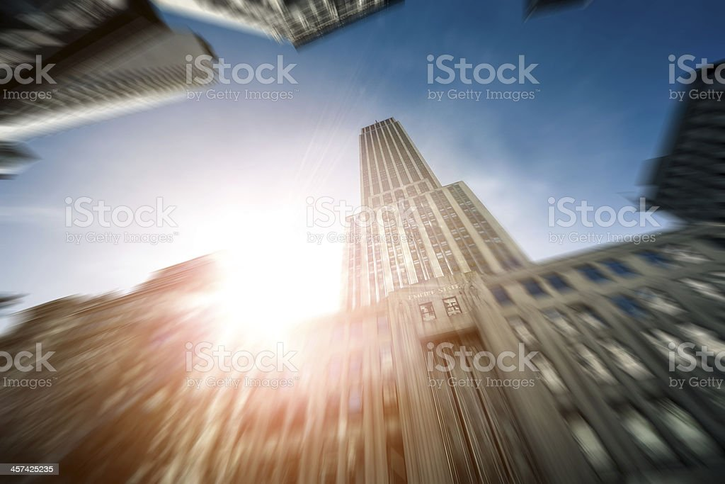 The Empire State Building royalty-free stock photo