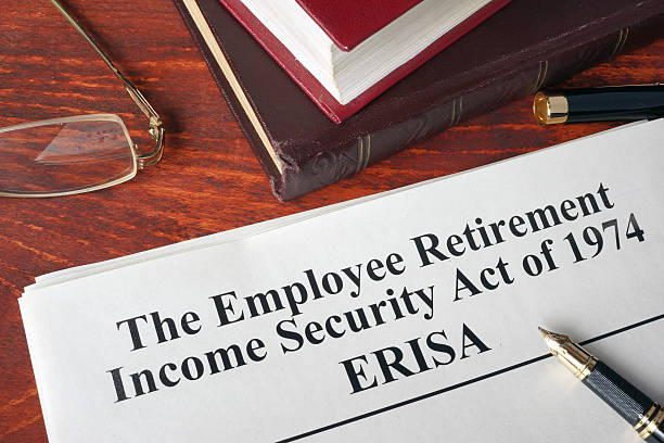 erisa the employee retirement income security act of 1974. - secure act stock pictures, royalty-free photos & images