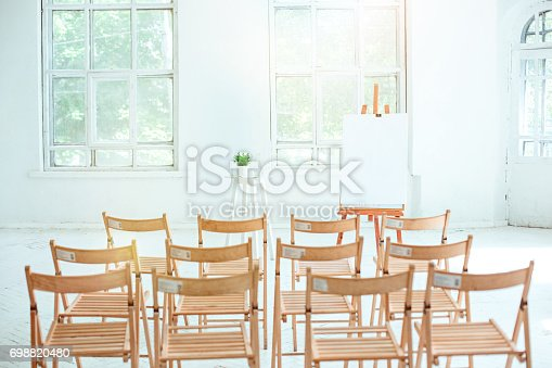 821463698 istock photo The empty conference hall 698820480