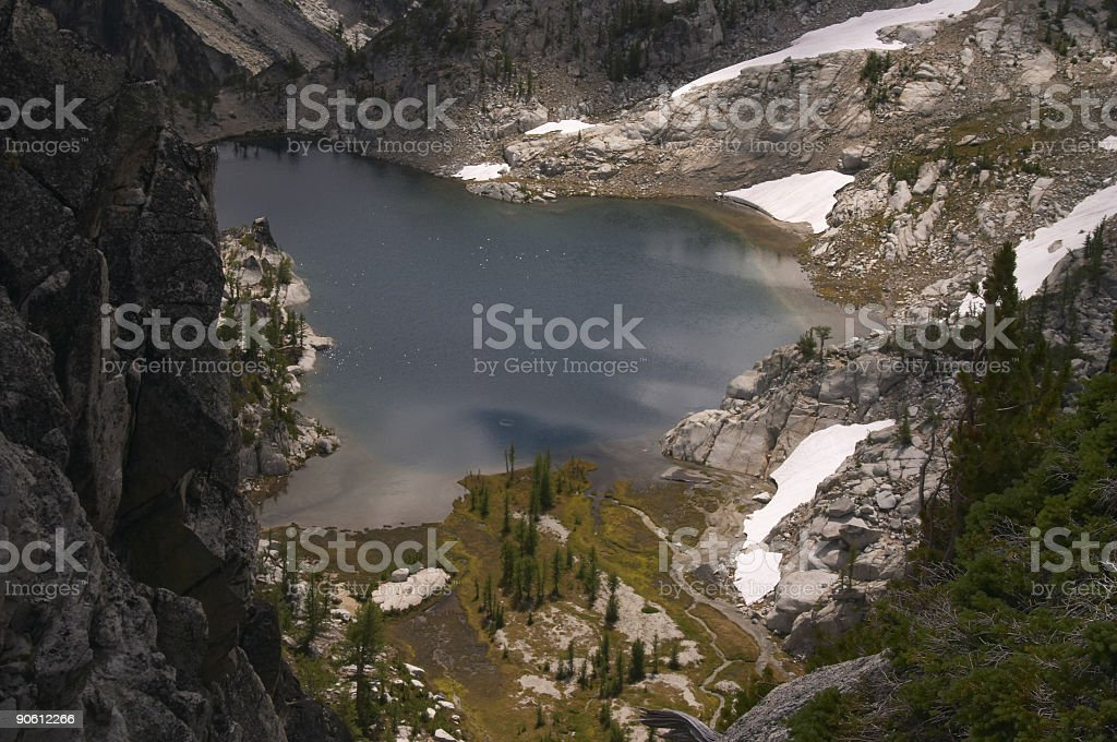 The Enchantment lakes royalty-free stock photo