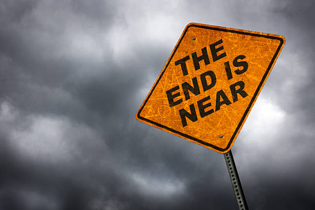 the end is near - apocalypse stock photos and pictures
