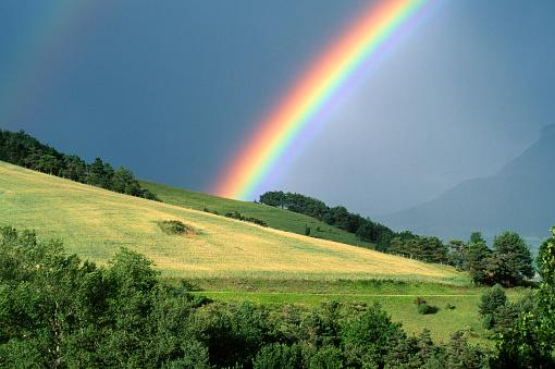 Rainbow in Isère (France)