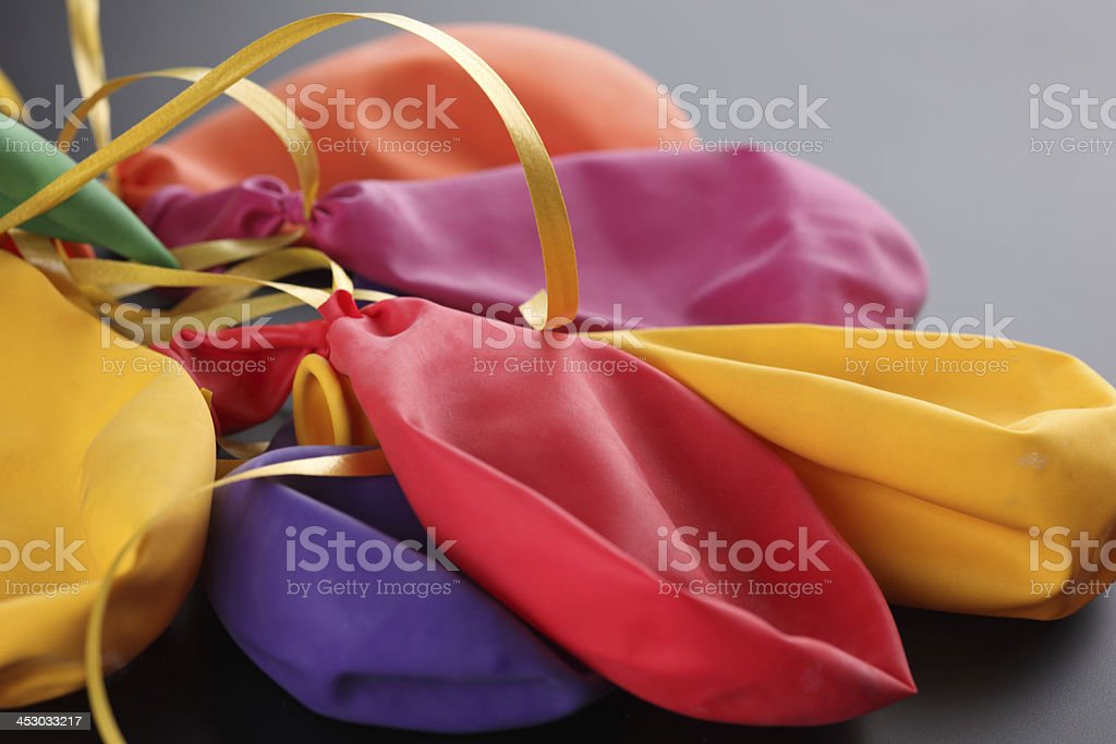 The End of party royalty-free stock photo