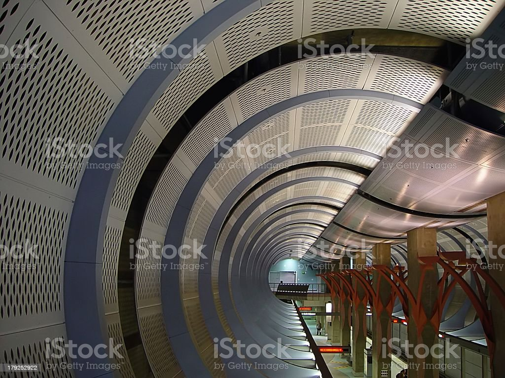 The End of the Tunnel stock photo