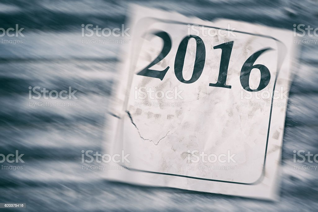 The End of the Year 2016 foto de stock royalty-free