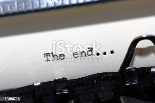 istock The End 172866713