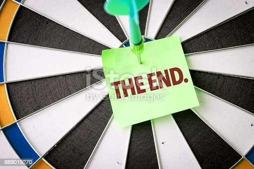 675796650 istock photo The End 689019270