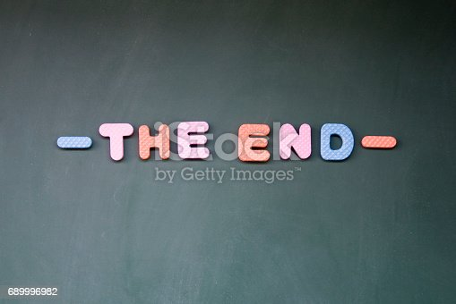 istock the end title 689996982