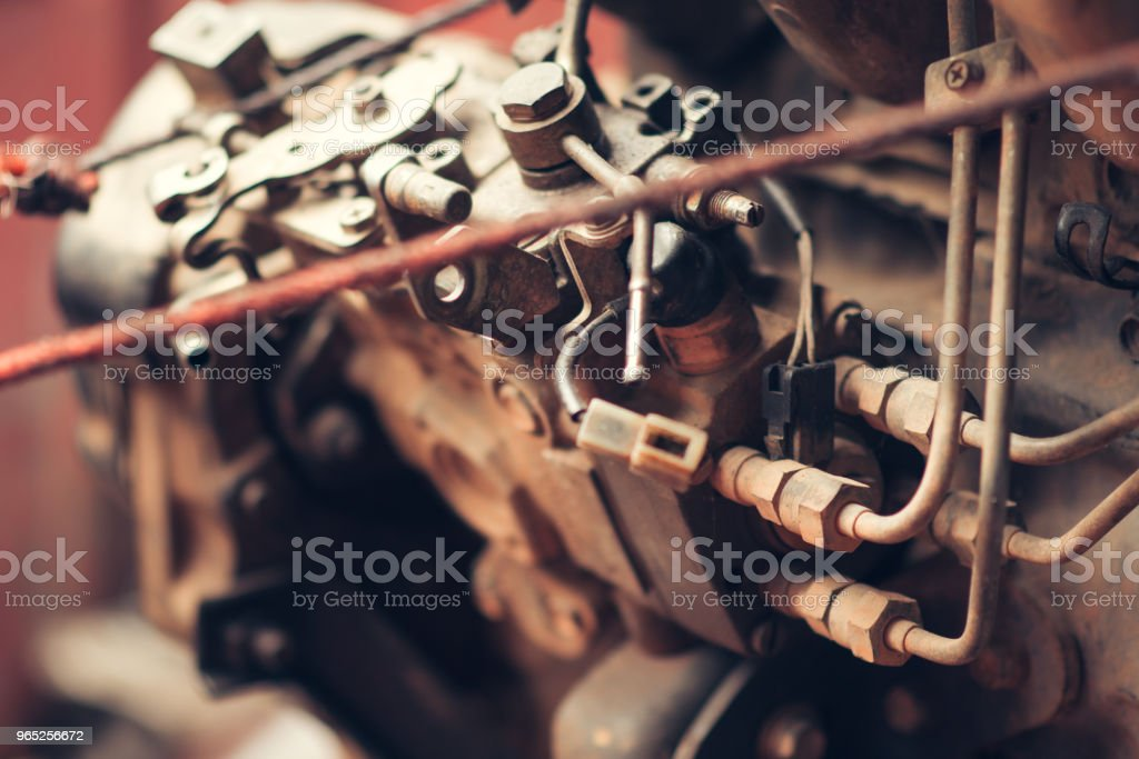 The Engine Component royalty-free stock photo