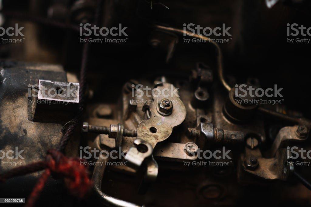 The Engine Component zbiór zdjęć royalty-free
