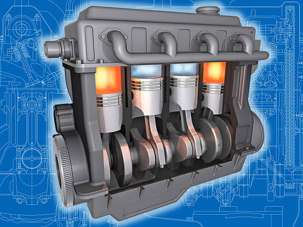 the engine. - cyclic stock pictures, royalty-free photos & images
