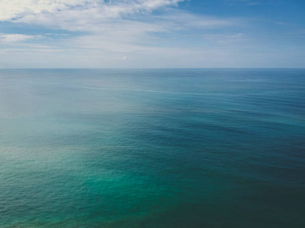 the english channel from the isle of wight - english channel stock pictures, royalty-free photos & images