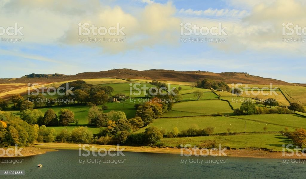 The English Peak District. royalty-free stock photo