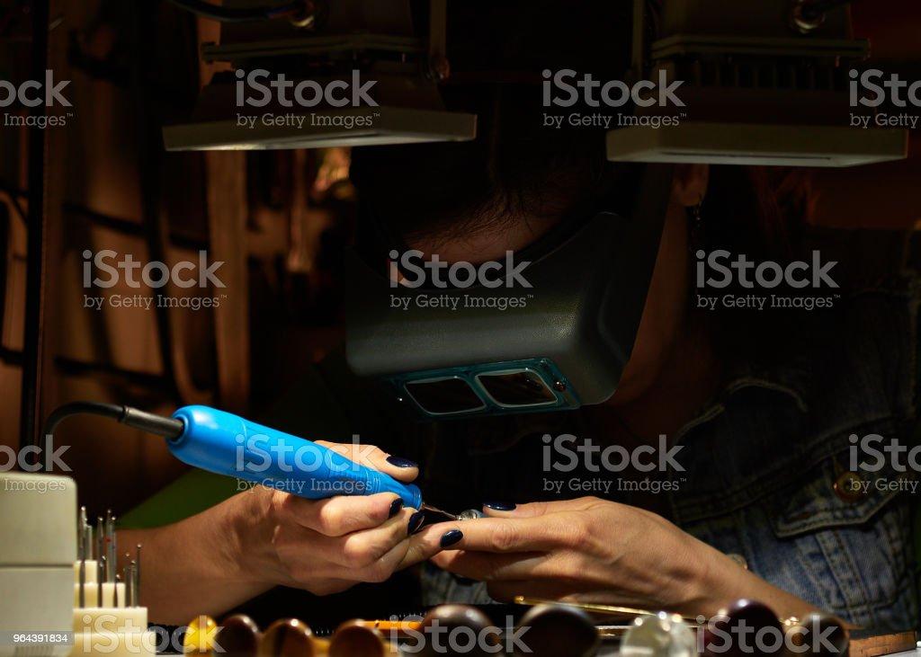 o gravador aguça o apego do gravador. - Foto de stock de Antigo royalty-free