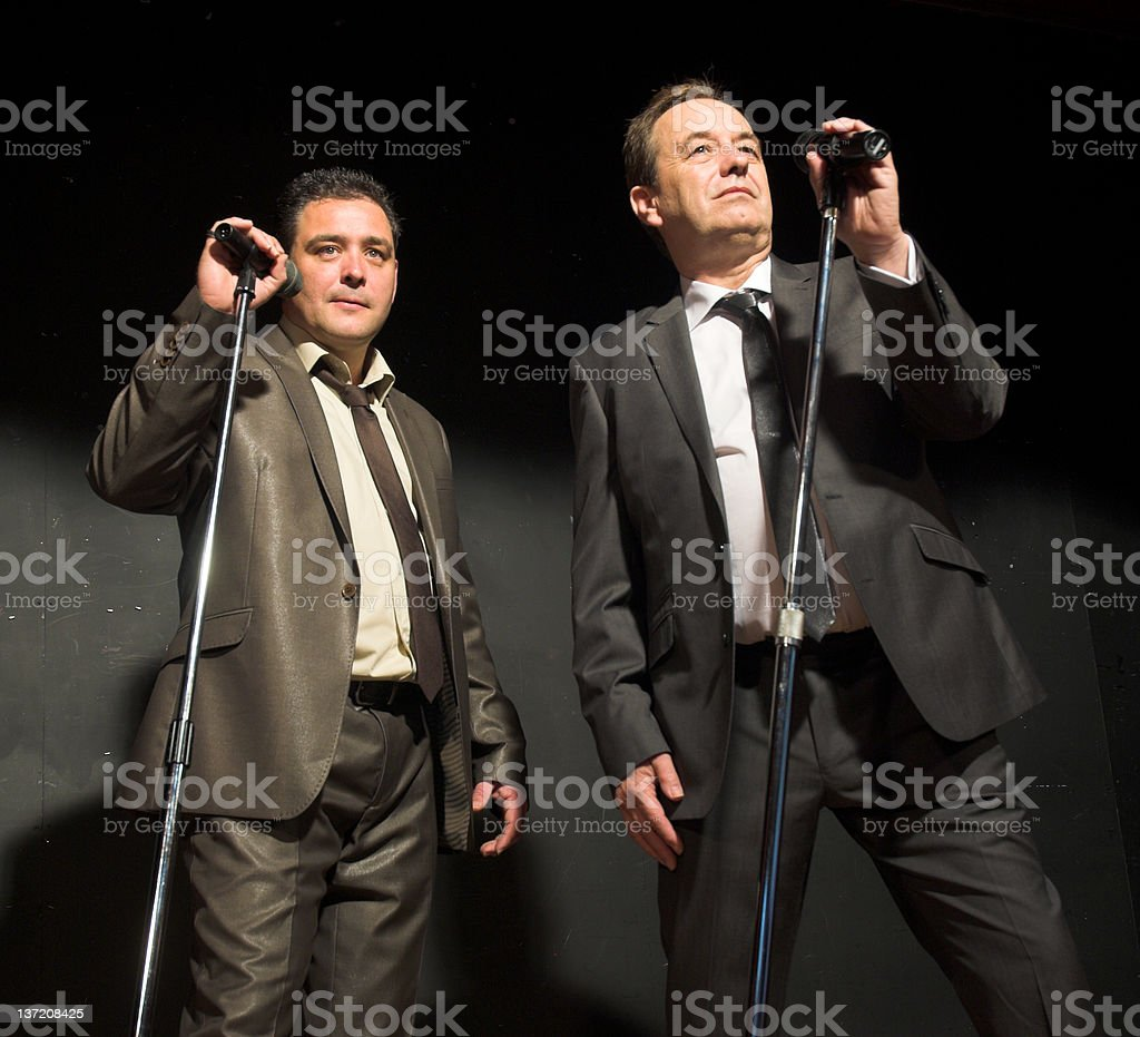 The Entertainers royalty-free stock photo