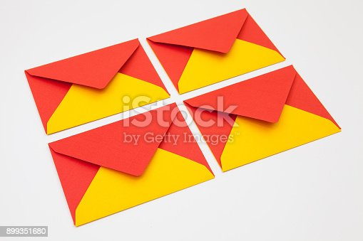 istock The envelopes on the table 899351680