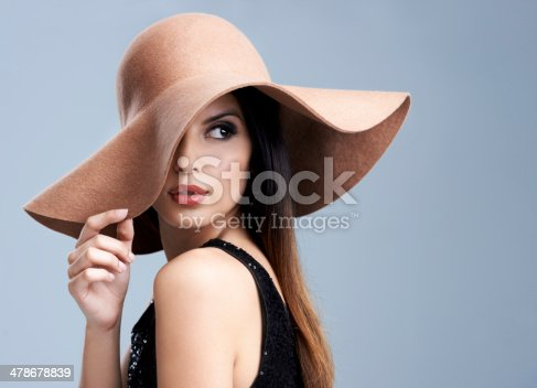Shot of a beautiful young woman modeling the latest fashions in studio