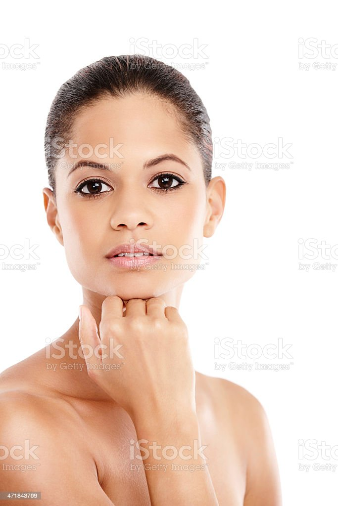 The epitomy of natural beauty royalty-free stock photo