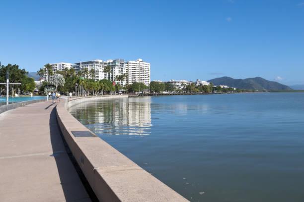 The Esplanade view stock photo