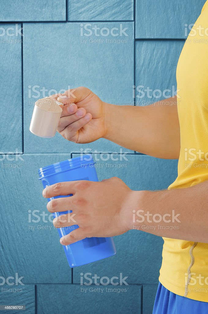 The essential protein royalty-free stock photo