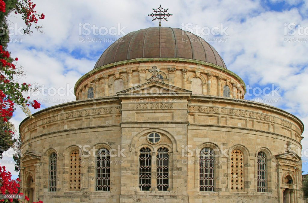 The Ethiopian Orthodox Church In Jerusalem Stock Photo