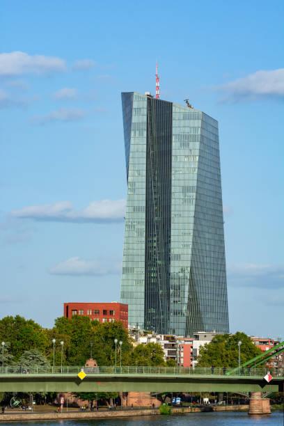 Die Europäische Zentralbank in Frankfurt – Foto