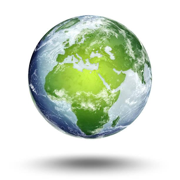 terra-europa hemisfério oriental - green world imagens e fotografias de stock