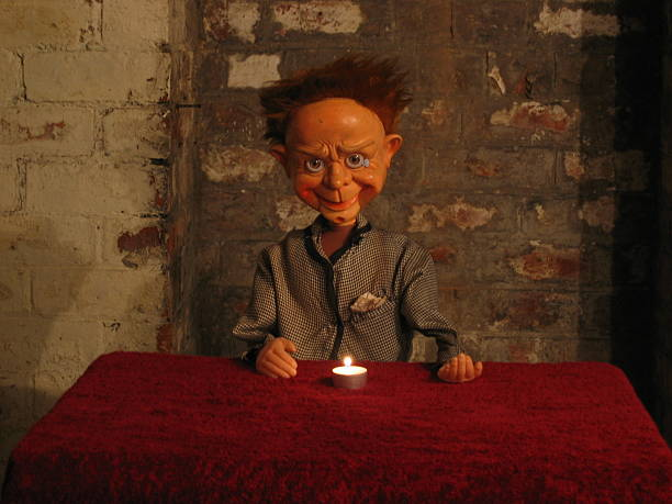 The Evil Boy The Evil Boy ventriloquist's dummy stock pictures, royalty-free photos & images