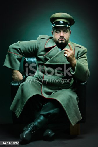 istock The evil dictator 147029582