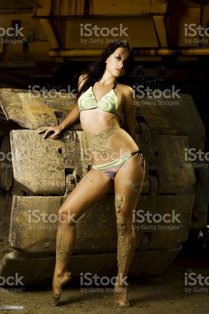 The excavator man's dream - PART 2 royalty-free stock photo