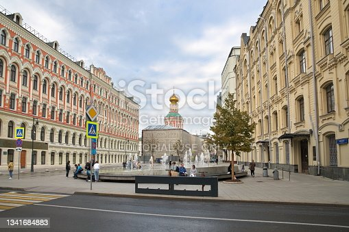 istock The Exchange Square in Moscow, Russia 1341684883