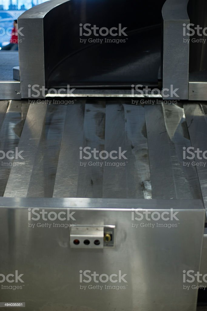 The exit of the baggage royalty-free stock photo