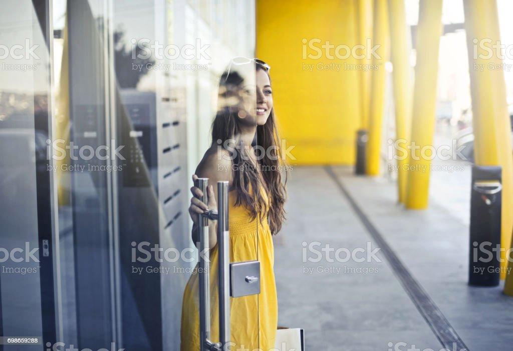 La sortie - Photo