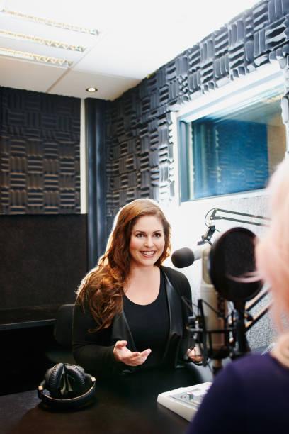 Der Experte für Radio-interviews – Foto