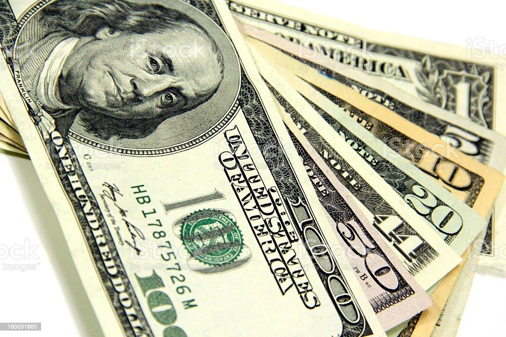 The Extra Dollar Bill royalty-free stock photo