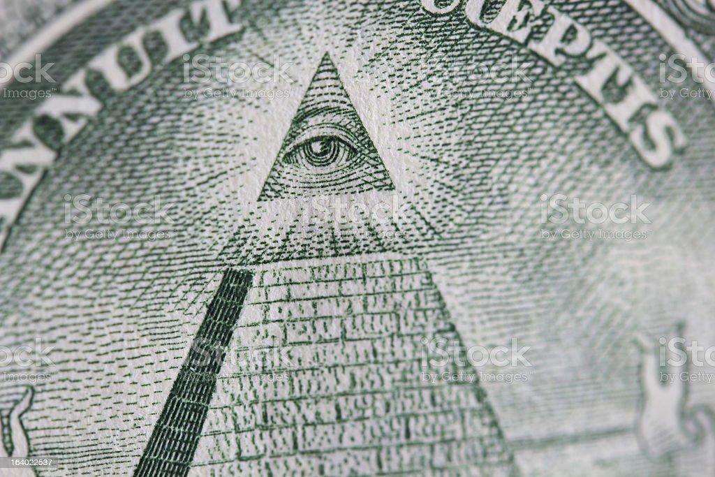 The Eye Of Providence royalty-free stock photo