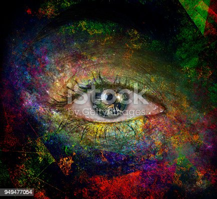 istock The eye of space 949477054