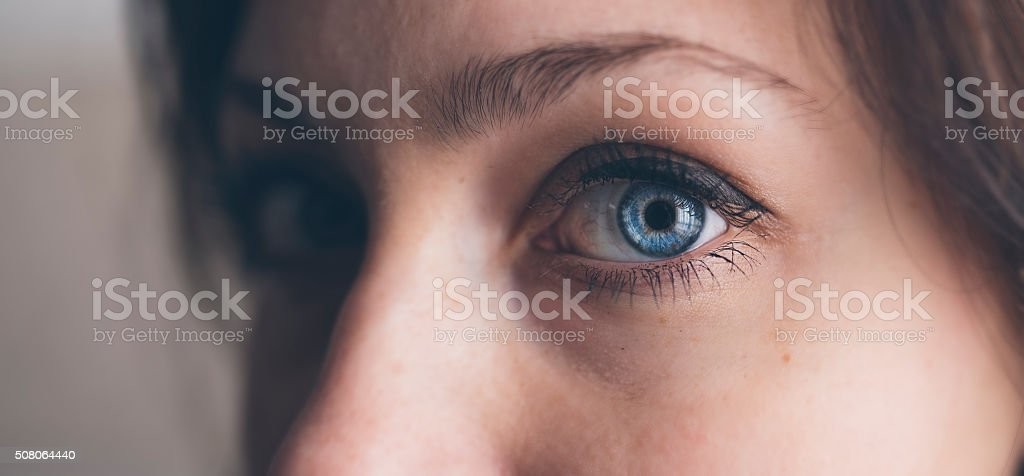 The eyes chico, they never lie stock photo