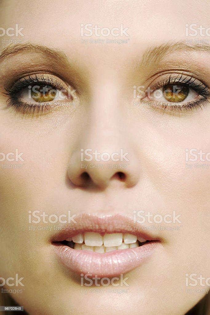 Gli occhi non mentono mai foto stock royalty-free